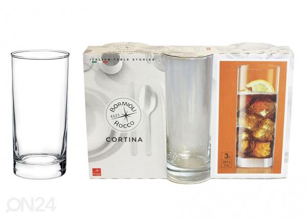 Juomalasi CORTINA, 3 kpl AS-119661