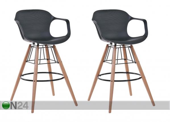 Bar-tuolit RINGSTED-A, 2 kpl BL-121885