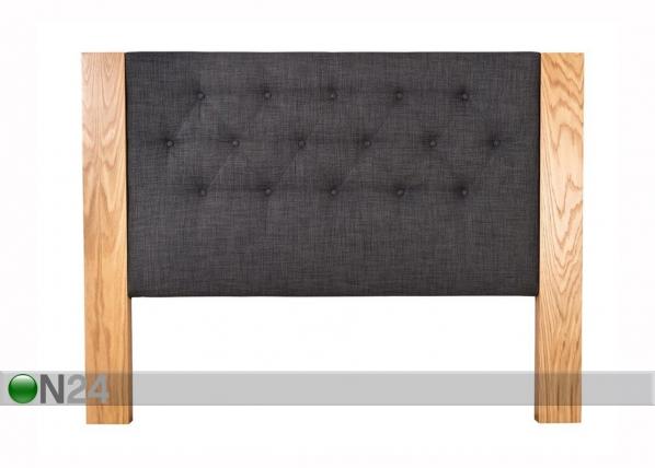 Sängynpääty HARLEKIN tammiviilutetulla reunalla FR-122369