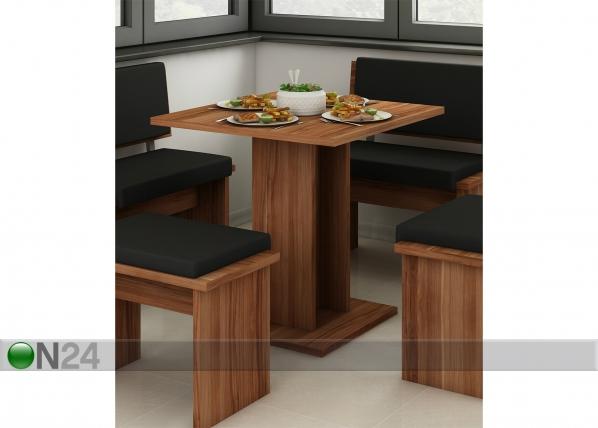 Ruokapöytä 75x75 cm TF-122514