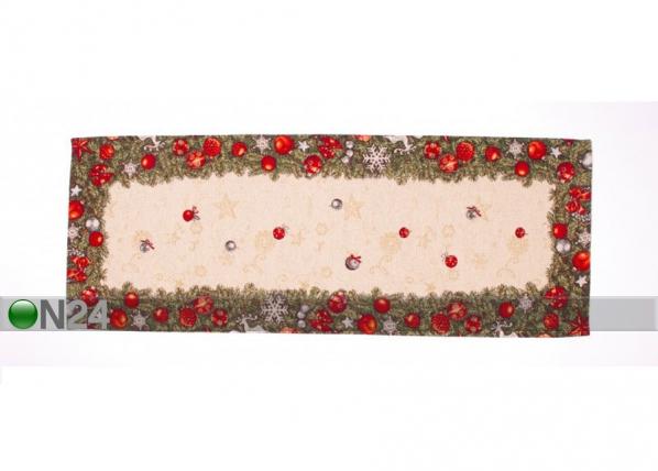 Gobeliinikankainen joululiina SPRUCE 44x133 cm TG-123466