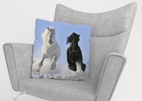Koristetyynyliina HORSES ED-123963