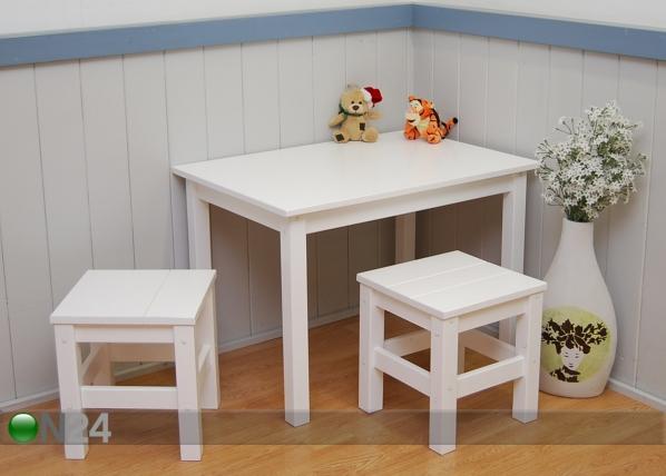 Lasten pöytä + 2 tuolia FY-124736