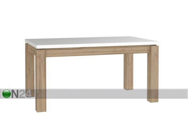 Jatkettava ruokapöytä 90x160-207 cm TF-124802