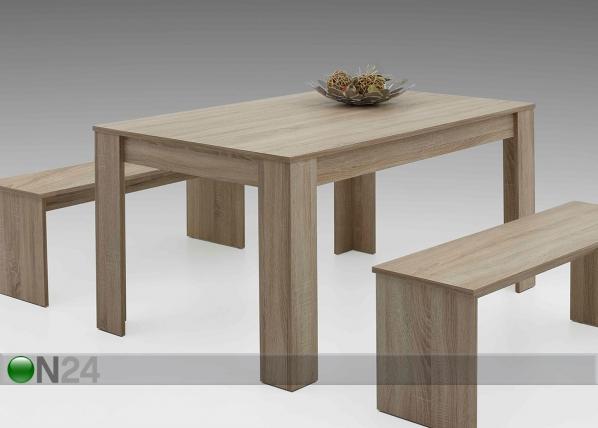 Ruokapöytä PETRA 90x140 cm SM-125774