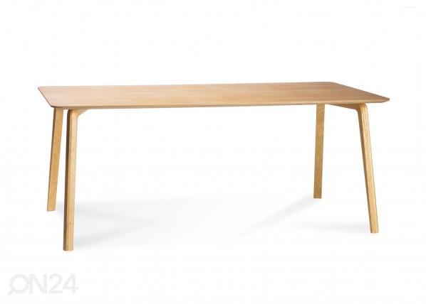 Ruokapöytä MILONGA 180x90 cm (tammi) TO-126160