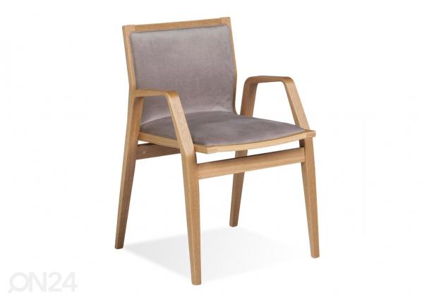 Tuoli MILONGA (tumma tammi + kangas) TO-126183