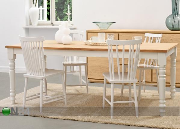 Ruokapöytä CHRISTINA MA-126348