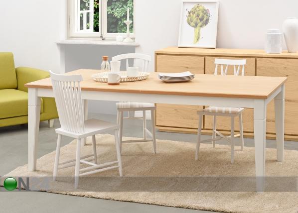 Ruokapöytä CHRISTINA MA-126350