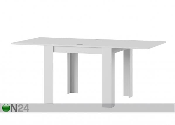 Jatkettava ruokapöytä 90x90-180 cm TF-126519