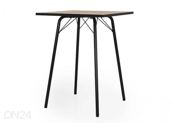 Baaripöytä FLOW 80x80 cm AQ-126731