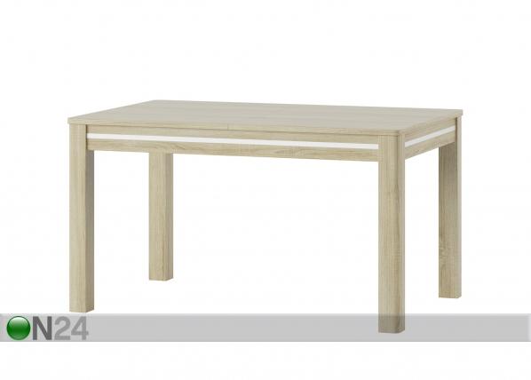 Jatkettava ruokapöytä 90x136-210 cm TF-127254