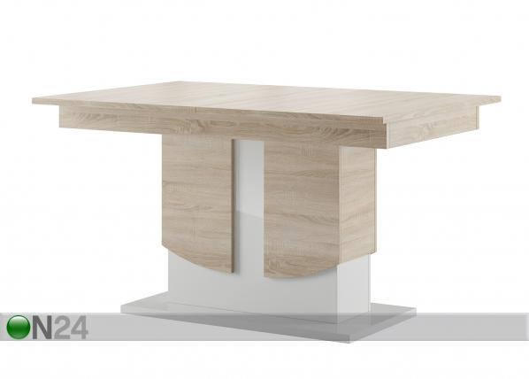 Jatkettava ruokapöytä 90x140-214 cm TF-127430