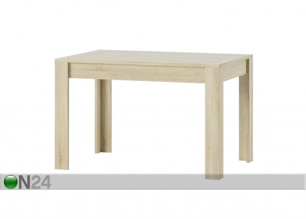 Jatkettava ruokapöytä 80x120-190 cm TF-127453