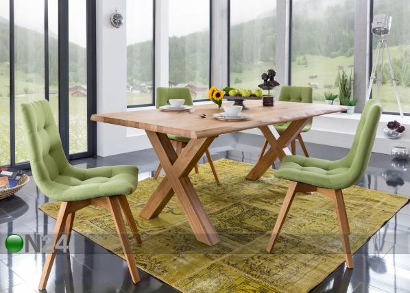 Tammi ruokapöytä PUR M44 180x100 cm CM-127494
