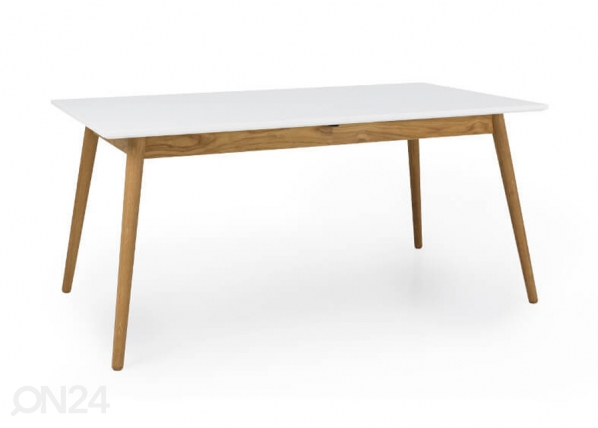 Jatkettava ruokapöytä DOT 160x90 cm AQ-127503