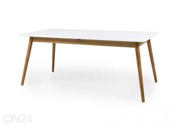 Jatkettava ruokapöytä 180x90 cm DOT AQ-127507