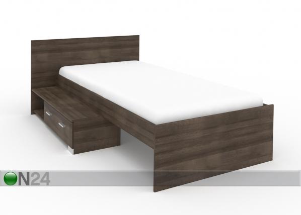 Sänky vuodevaatelaatikolla GALAXY 90x200 cm MA-127570