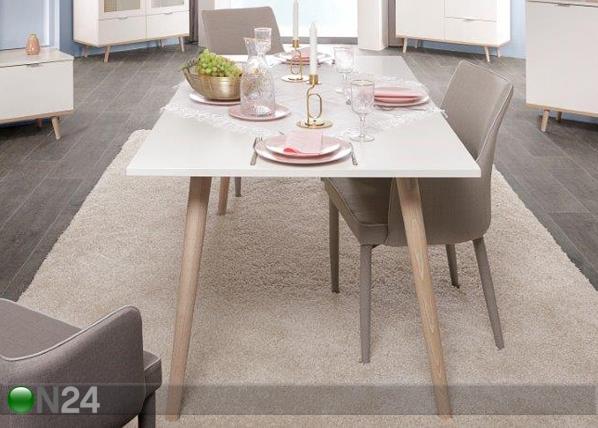 Ruokapöytä 90x160 cm CM-127949