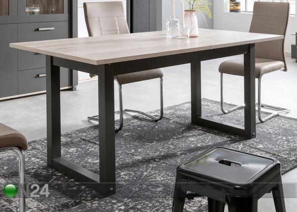 Jatkettava ruokapöytä 160-200x90 cm CM-128022