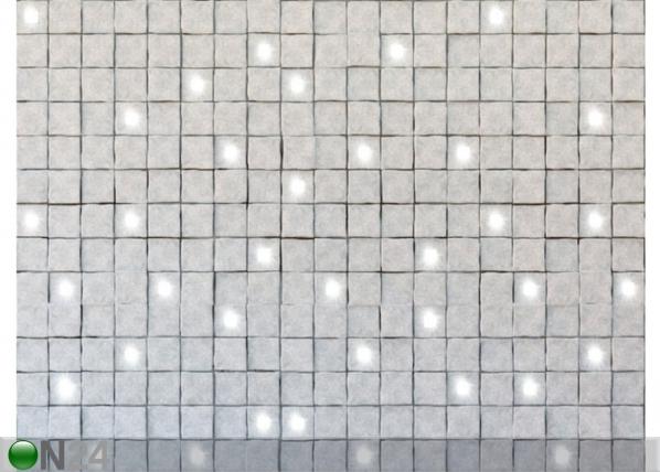 Fleece-kuvatapetti LIGHT IN STONES 360x270 cm ED-128169