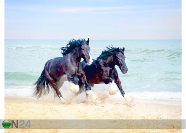 Fleece-kuvatapetti HORSES 360x270 cm ED-128172
