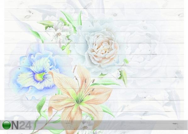 Fleece-kuvatapetti FLOWERS 360x270 cm ED-128180