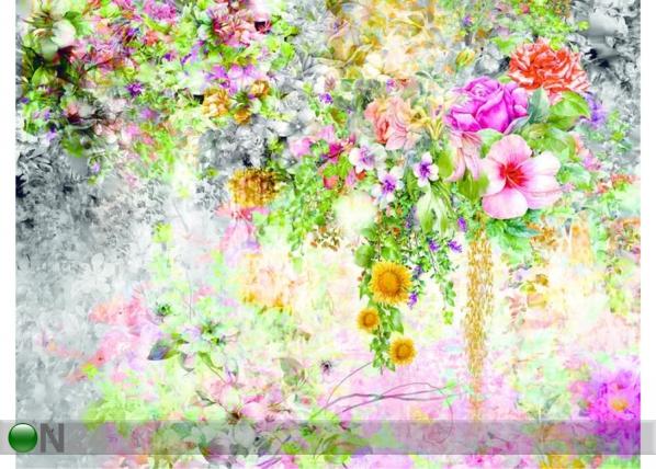 Fleece-kuvatapetti FLOWERS 1, 360x270 cm ED-128181