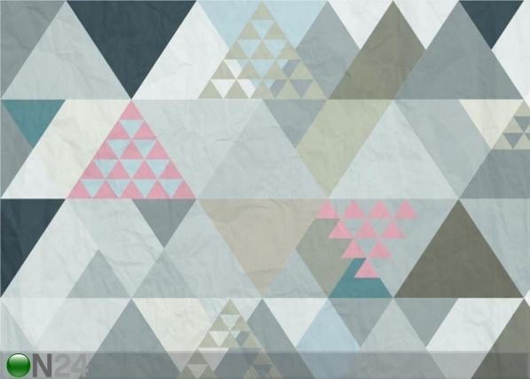 Fleece-kuvatapetti TRIANGLES 1, 360x270 cm ED-128210