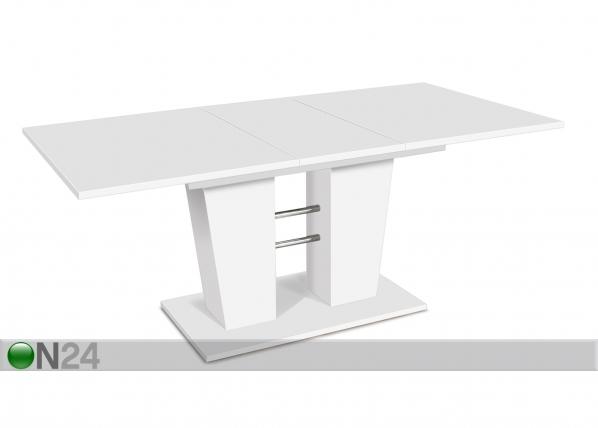 Jatkettava ruokapöytä 140-180x90 cm CM-128818
