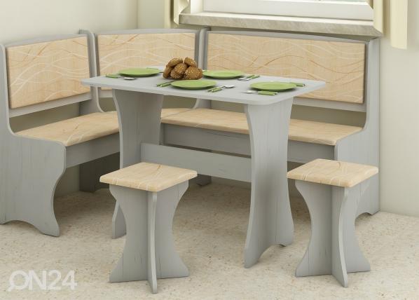 Ruokailupöytä 100x60 cm TF-128969
