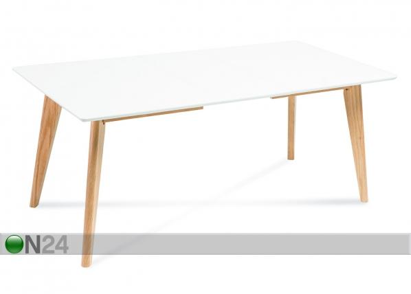 Jatkettava ruokapöytä TF-129925