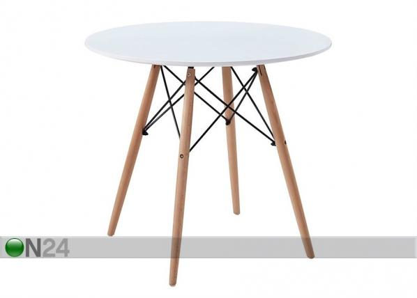 Ruokapöytä Ø 80 cm TF-129970