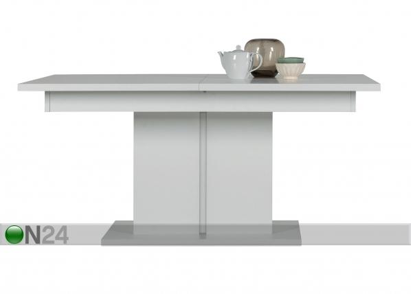 Jatkettava ruokapöytä 160x200x90 cm TF-129977