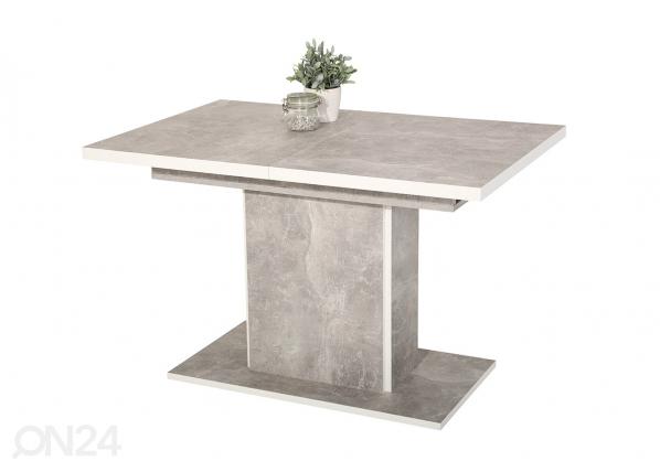 Jatkettava ruokapöytä ALICE 80x120-160 cm SM-130104