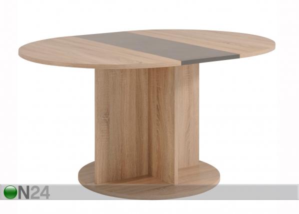 Jatkettava ruokapöytä FUMAY 109-145x109 cm MA-130280