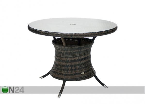 Puutarhapöytä WICKER EV-134400
