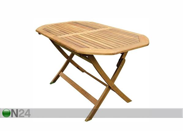 Kokoontaitettava puutarhapöytä SI-135825