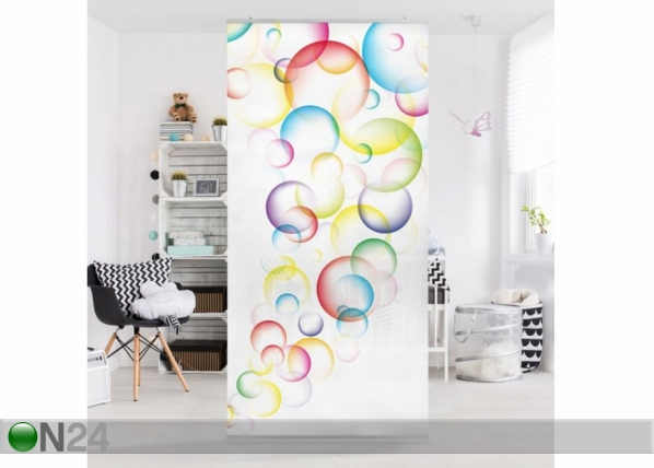 Paneeliverho RAINBOW BUBBLES 250x120 cm ED-141202