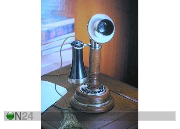 Pöytäpuhelin, 14200 ruskea puu VA-15334