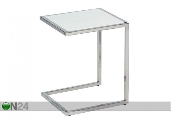 Sivupöytä CAVA-2, valkoinen BL-21555
