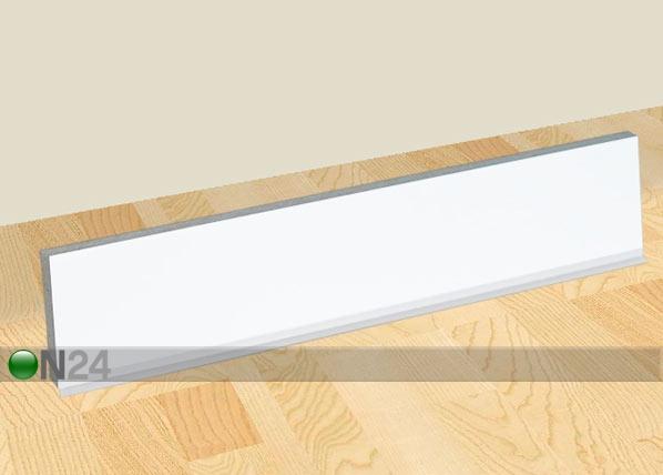 Valkoinen sivusokkeli 85 cm keittiökaapille AR-24333