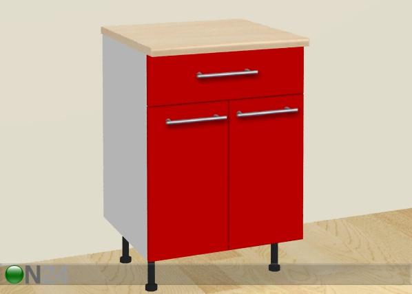 Kaksiovinen keittiökaappi+laatikko AR-24814