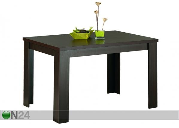 Jatkettava ruokapöytä STANDARD 80x120-153 cm AQ-28304