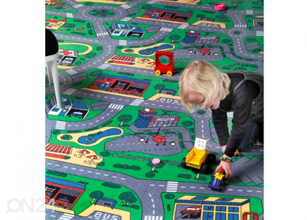Lastenhuoneen matto AUTOTIET AF-30417