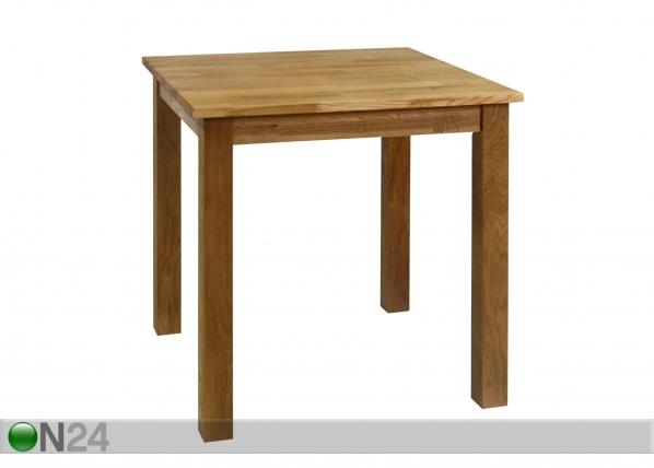 Tamminen ruokapöytä GLOUCESTER 75x75 cm EV-33746