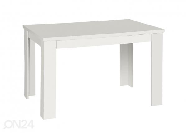 Jatkettava ruokapöytä STANDARD 80x120-153 cm AQ-34166