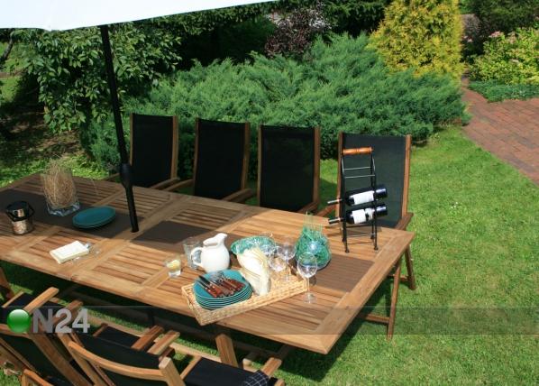 Jatkettava puutarhapöytä FUTURE 110x210-300 cm EV-34452
