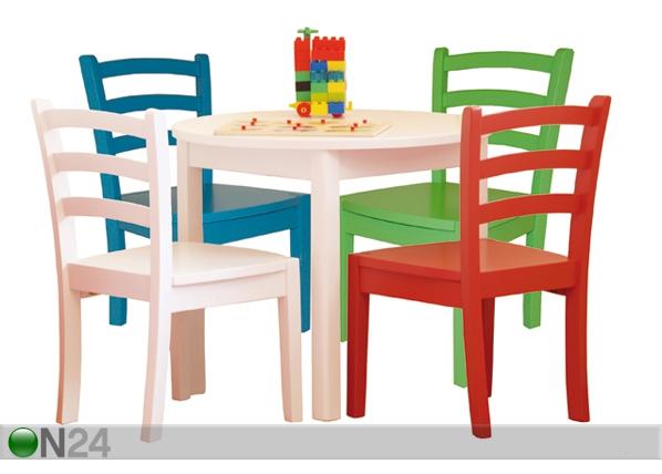 Lasten pöytä ja tuolit, 2 kpl EI-37202