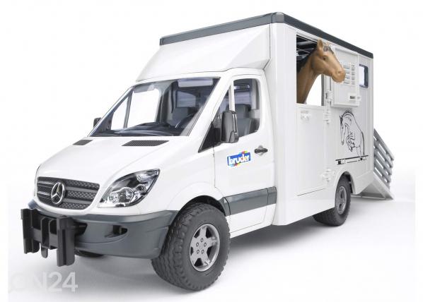 Hevoskuljetusauto MERCEDES-BENZ KL-37623